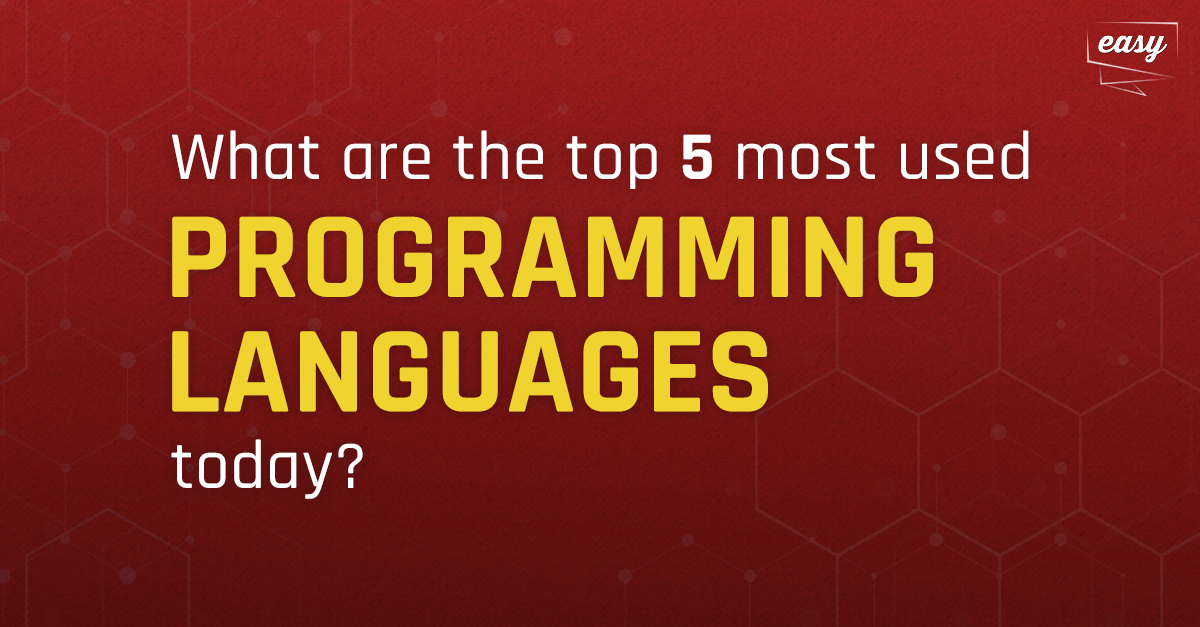 Discover the 7 most used programming languages on the market