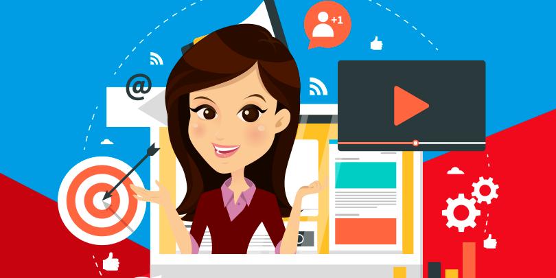 Empresas que geram mais de 13 conteúdos por mês conquistam, em média, 4,2 vezes mais visitantes!