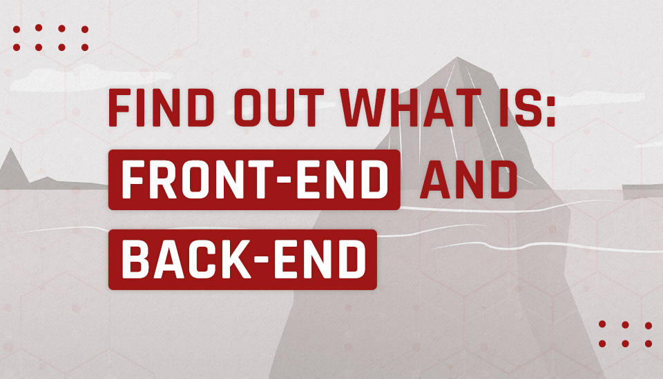 The difference between front end and back end in web development