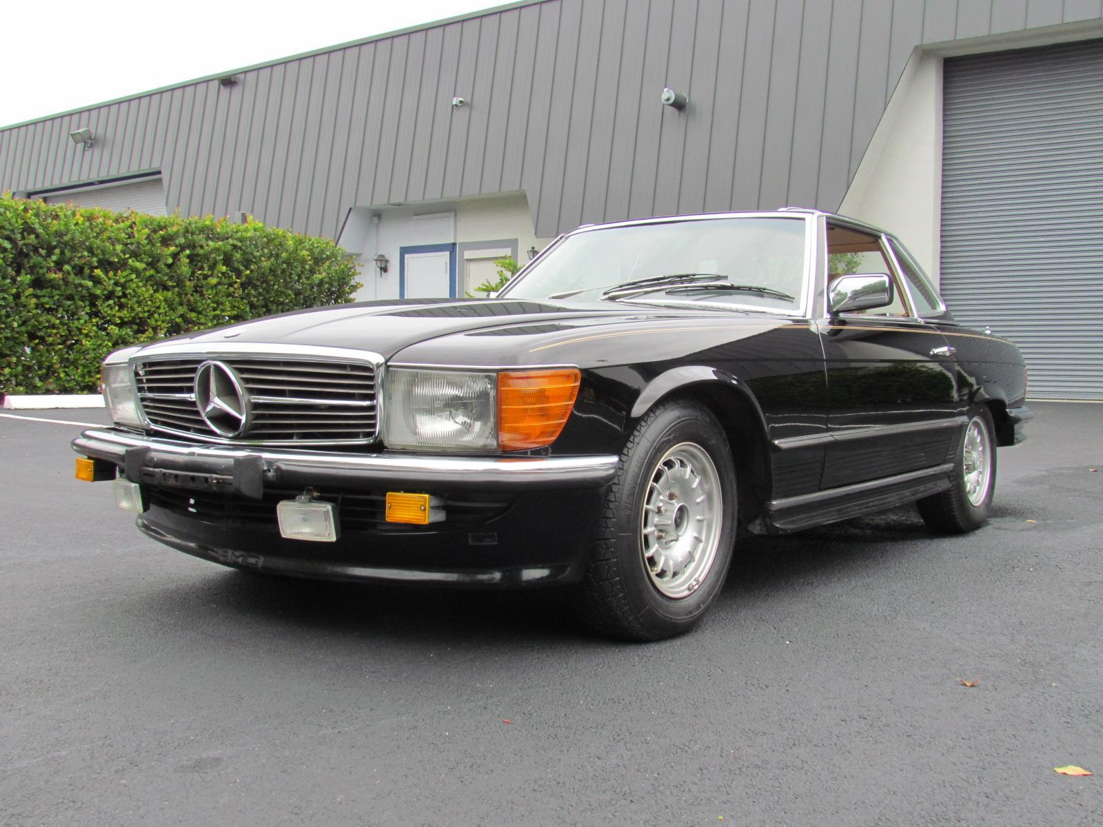 1984 Mercedes Benz 500 SL