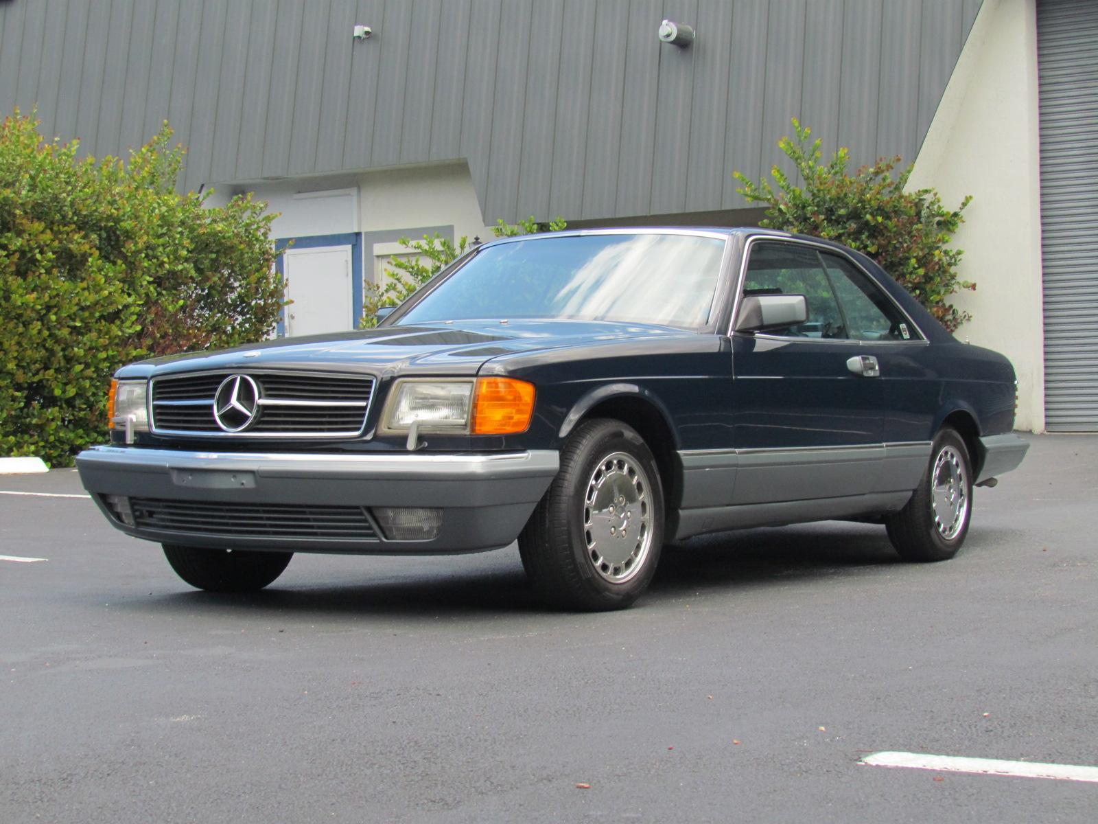 1987 Mercedes Benz 560 SEC